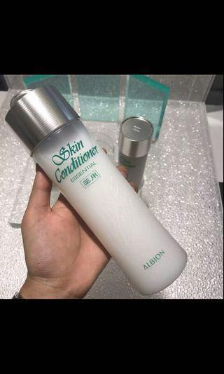 Albion skin conditioner 330mL 健康化妝水 爽膚精萃液 爽膚水 奧比虹 艾倫比亞