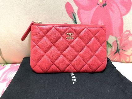 Chanel O Case Coins Bag Pouch
