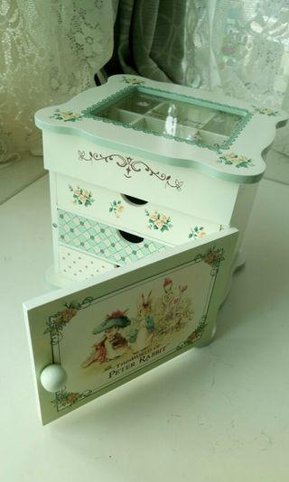 Peter Rabbit Accessory jewel box 彼得兔手飾盒
