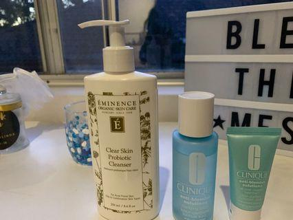 Clinique Anti-blemish solutions, Eminence Clear Skin Probiotic Cleanser