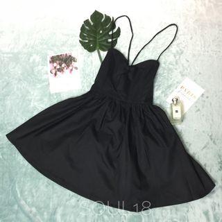 Sexy back flare dress