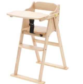 Yamatoya (tatameru) high chair 實木餐椅