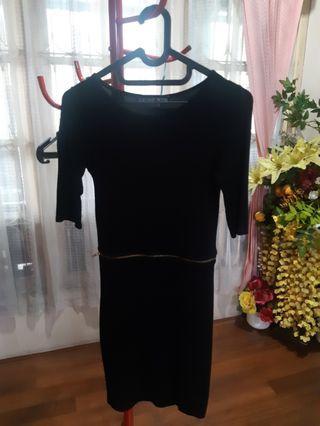 Dress Hitam Top Shop