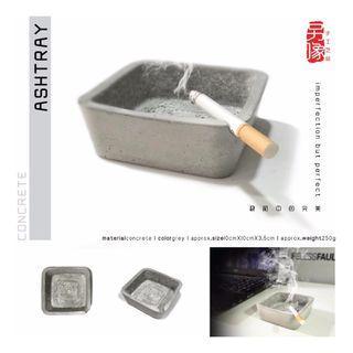 creative handicraft concrete ashtray