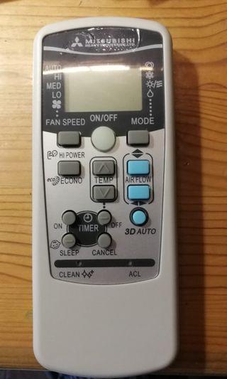 Almost new compatible aircon remote controller control for Mitsubishi
