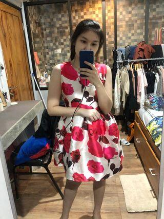 Dress Bunga Pesta