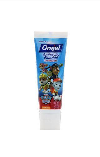Orajel Toothpaste paw patrol