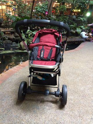 PRELOVED Sweet Cherry Stroller (SCR6)
