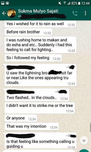 Alhamdulillah Testimonial Calling Lightning (Panggil Petir)