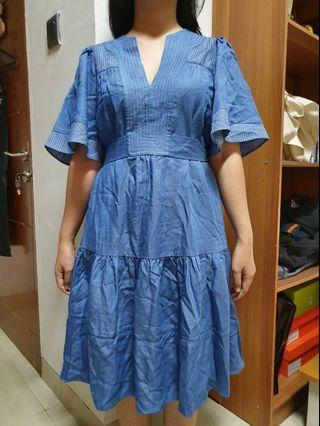 Kate Spade Dress Blue Denim