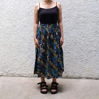 Flower Skirt Rok Mango lookalike