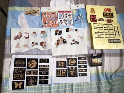 防彈少年團 BTS 貼紙 行李箱貼紙