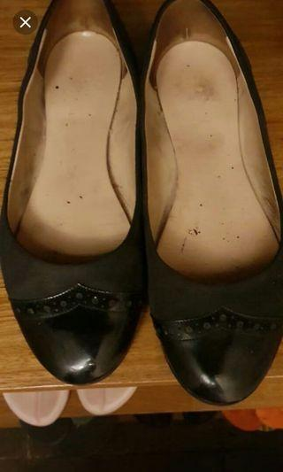 AUTHENTIC BALLY FLATSHOES