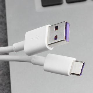 100% Huawei USB 3.1 Type C 5A Cable- fast charger