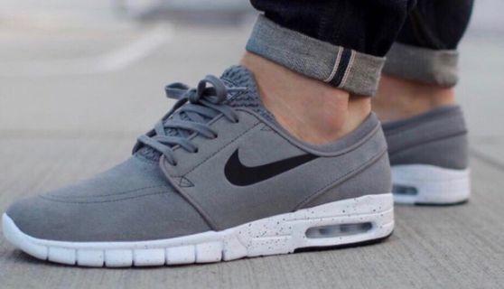 🚚 Nike Stefan Janoski Max Cool Grey