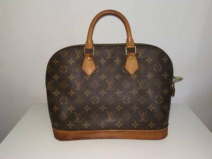 100% authentic lv preloved handbag