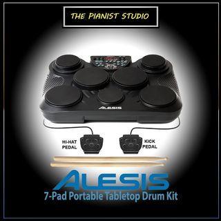 The Pianist Studio   Alesis Compactkit 7 Portable Tabletop Compact Electronic Drum Kit Singapore Sale