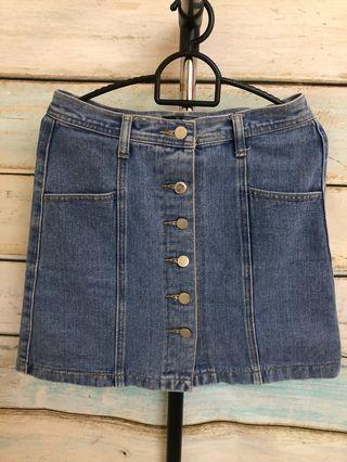 🚚 Something Borrowed Denim Skirt