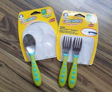 🚚 Toddler feeding Spoon and Forks