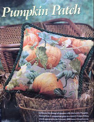 Pumpkin Patch Cross Stitch Chart