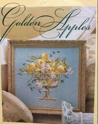 Golden Apples Cross Stitch Chart