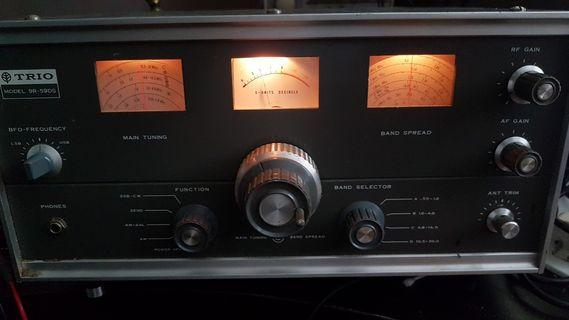 Multi-band shortwave receiver TRIO 9R-59DS truly special