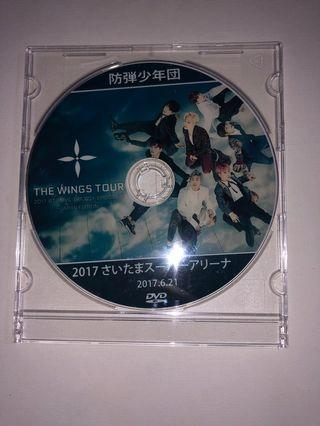 BTS the wings tour CD