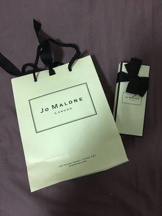 🚚 Jo Malone 30ml 盒子+紙袋