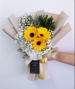 #186 | Gerbera Bouquet | Convocation 2019 | Birthday | Anniversary