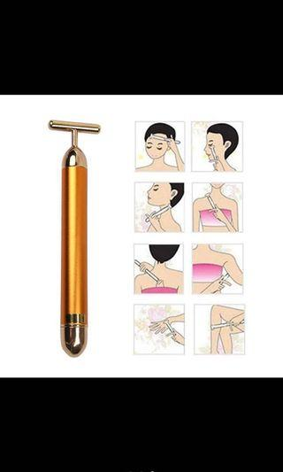 24 K beauty gold bar massage device
