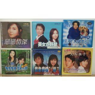 🚚 二手日劇VCD每套50元,6套只要250元