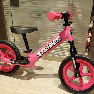 9成新Strider 粉紅色