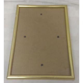 金色邊 証書 塑料面框架