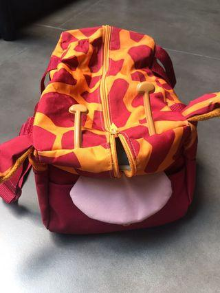 "Samsonite ""Sammies"" giraffe duffle bag"
