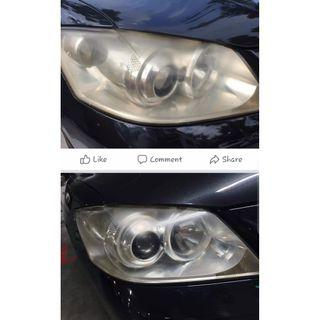 💯✅ Headlight restoration