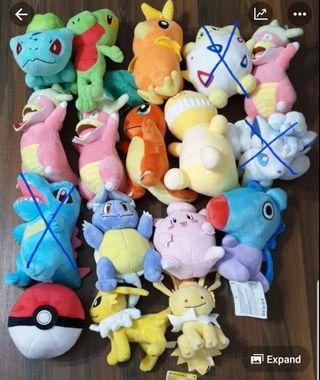 🚚 Pokemon Plush Toys - 12