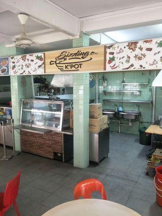 1.5k Food stall for rent