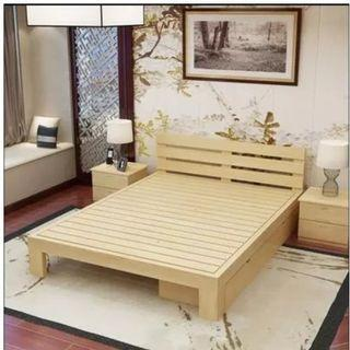 實木床 松木床 單人床 雙人床 單層床 訂造 租房 劏房 公屋 居屋 私樓 190530tr