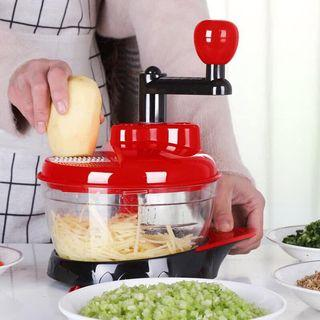 Household manual twisted meat grinder multi-functional chopper