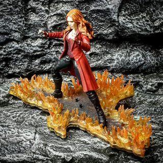先閱文,後發問 火焰特效地台場景  Fire effect base - 1:12比例