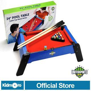 🚚 United Sports, 24-Inch Pool/Billiard Table Game Series for Kids