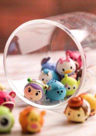 Tsum Tsum mini公仔連玻璃樽