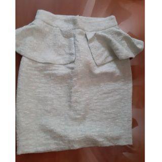 🚚 Zara peplum skirt (never worn)