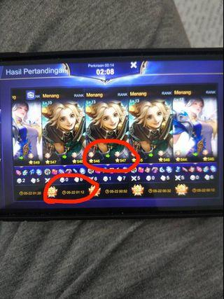 ✅1-DAY RANK/CLASSIC WINRATES BOOSTING MOBILE LEGENDS✅ diamonds mobile legends