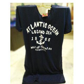 *NEW* Navy blue hoodie dress - tshirt material