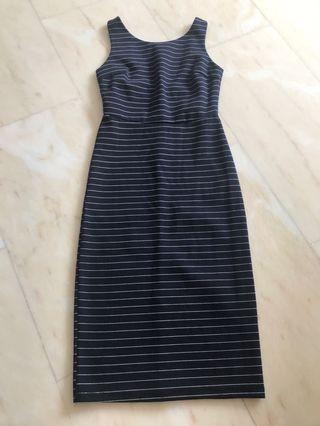 Striped Dress bodycon