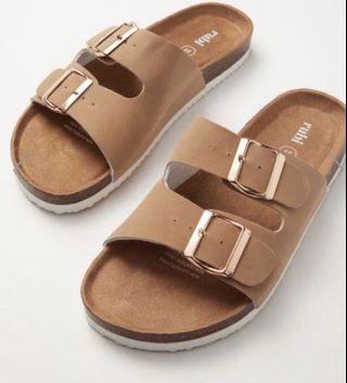 Rubi slip on sandals