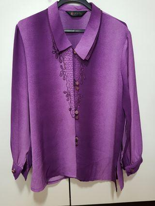🚚 Purple Blouse