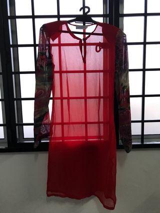Modern baju kurung