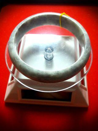 Sales! Geniune Cooling Burmese Jadeite Jade Bangle.  Come with Velvet Box for Yourself or Loves Ones!